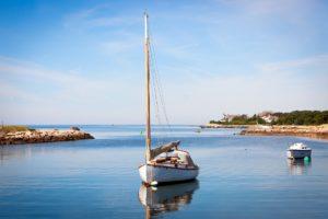 Urlaub Wasser Boot