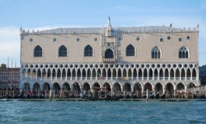 Bootfahren Venedig Dogenpalast