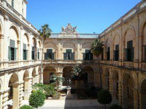 Bootscharter Malta - Großmeisterpalast