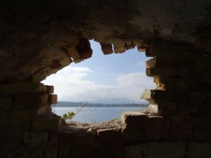 Bootfahren Korfu Ausblick