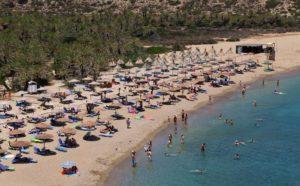 Yachtcharter Kreta - Palmenstrand von Vai