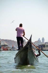 Gondel fahren Venedig