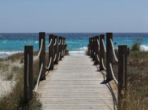 Bootfahren Menorca - Strand