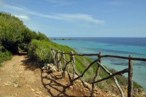 Bootsvermietung Menorca - Weg