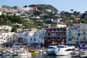 Capri Stadt