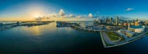 Boot mieten - Miami Wasser