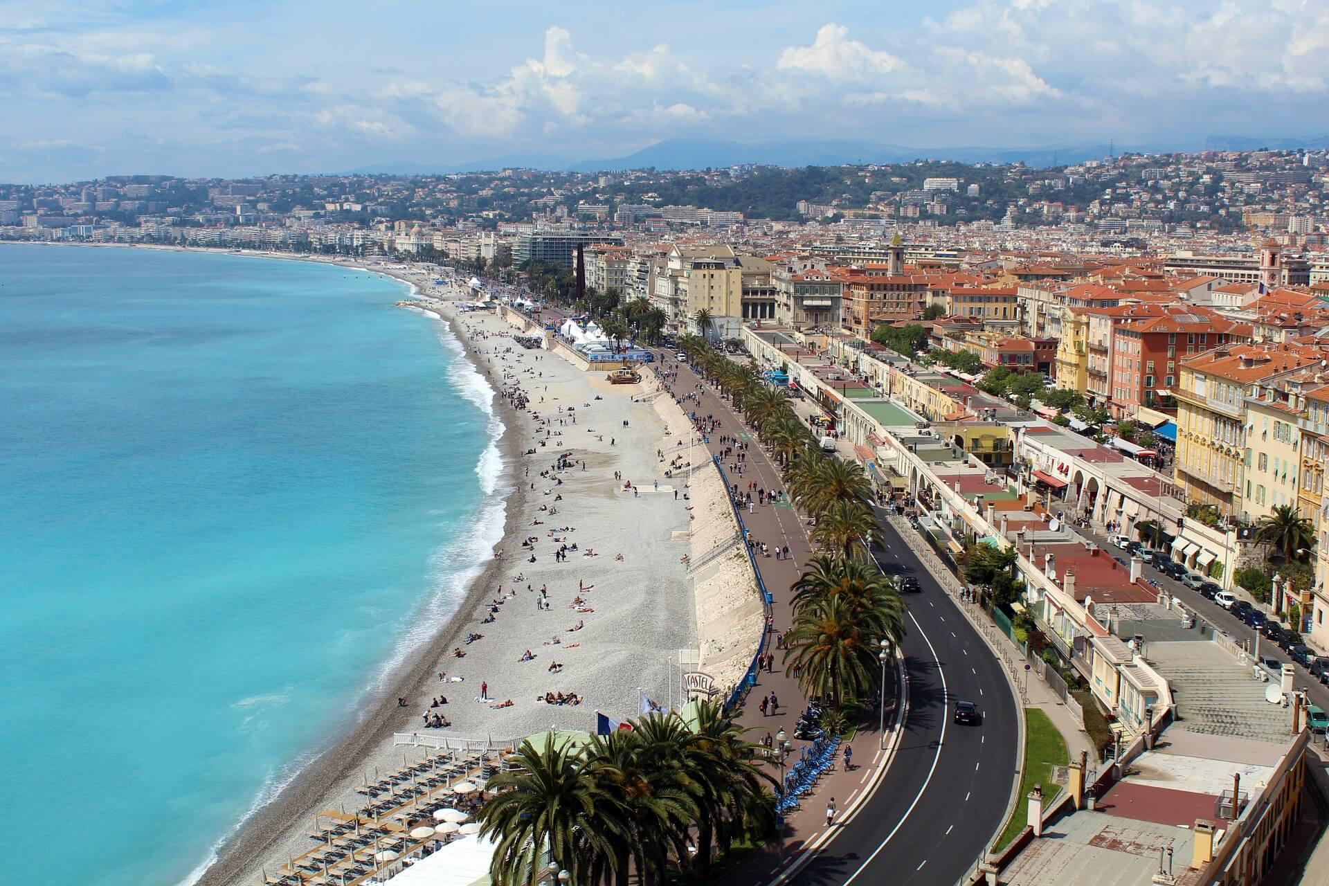 Nizza Küste