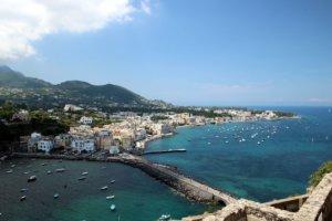 Ischia Blick auf Meer