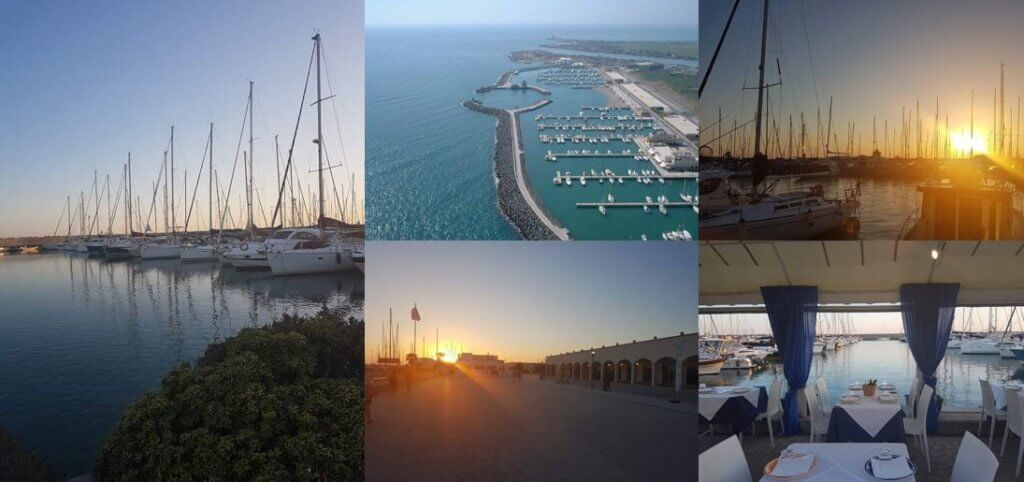 porto di roma collage