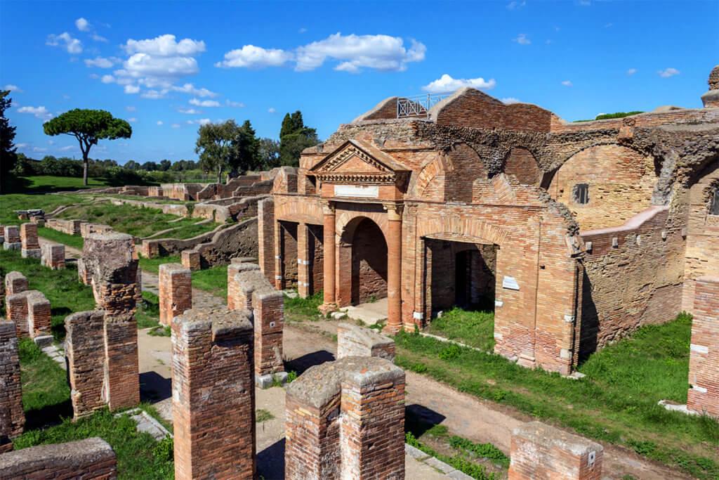Ostia Antica Ruinen