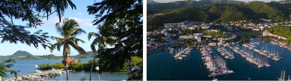 Martinique Hafen