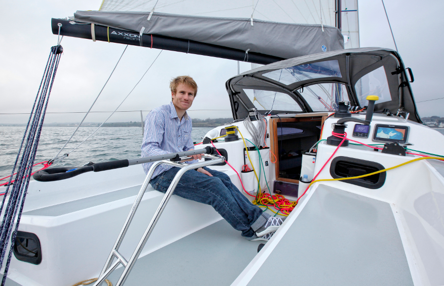 Das Boot von Francois Gabart