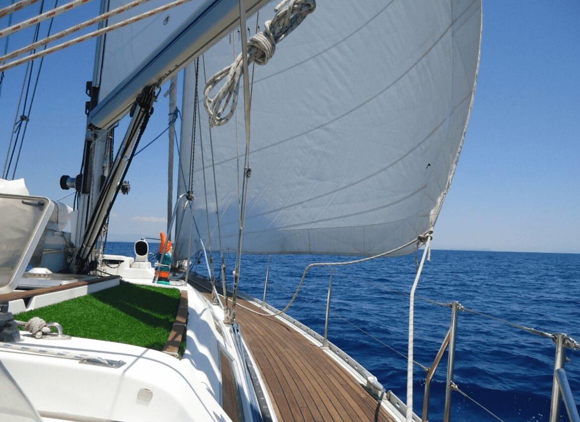Segelboot Griechenland