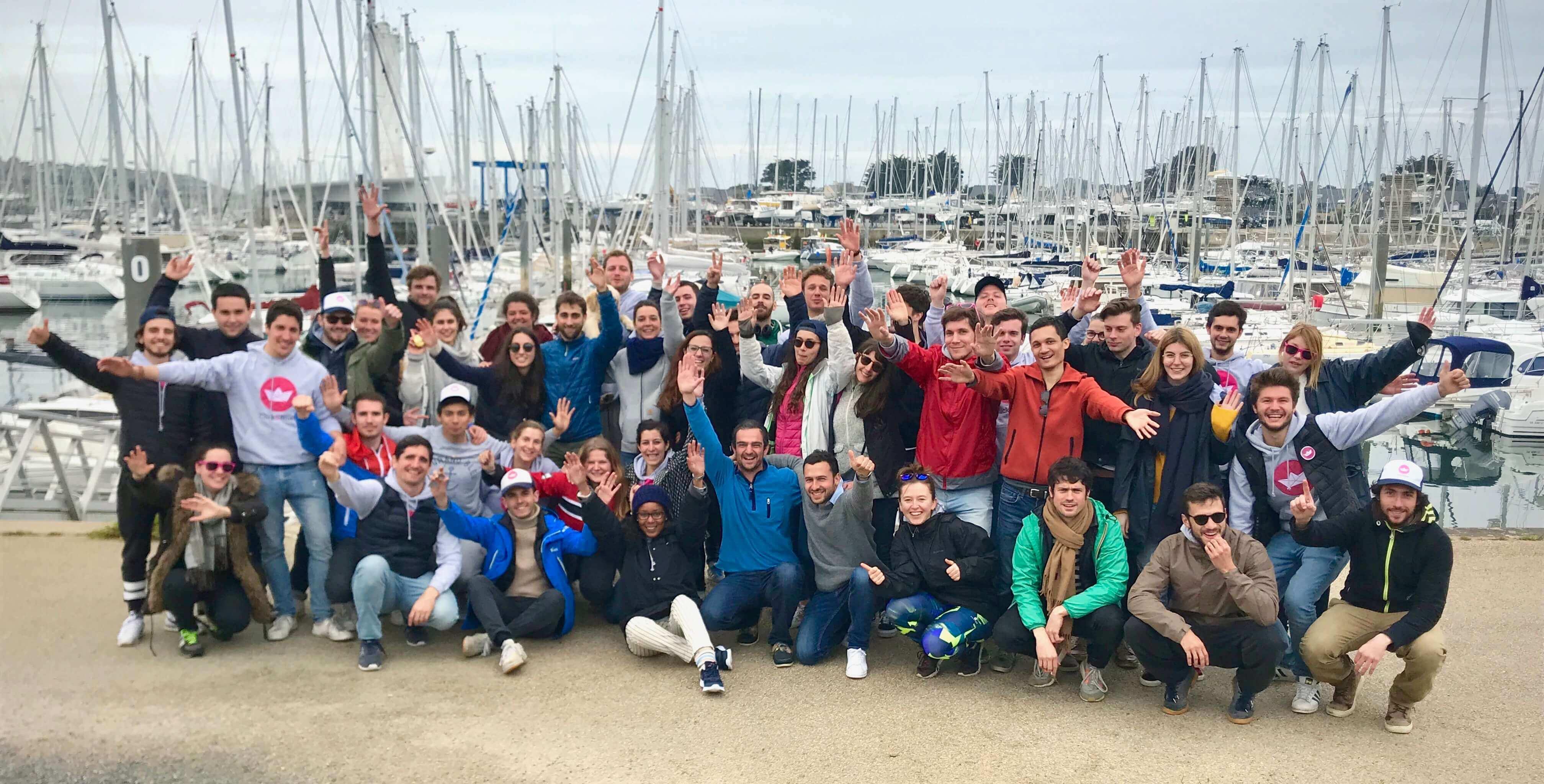 Click&Boat Teambuilding 2018