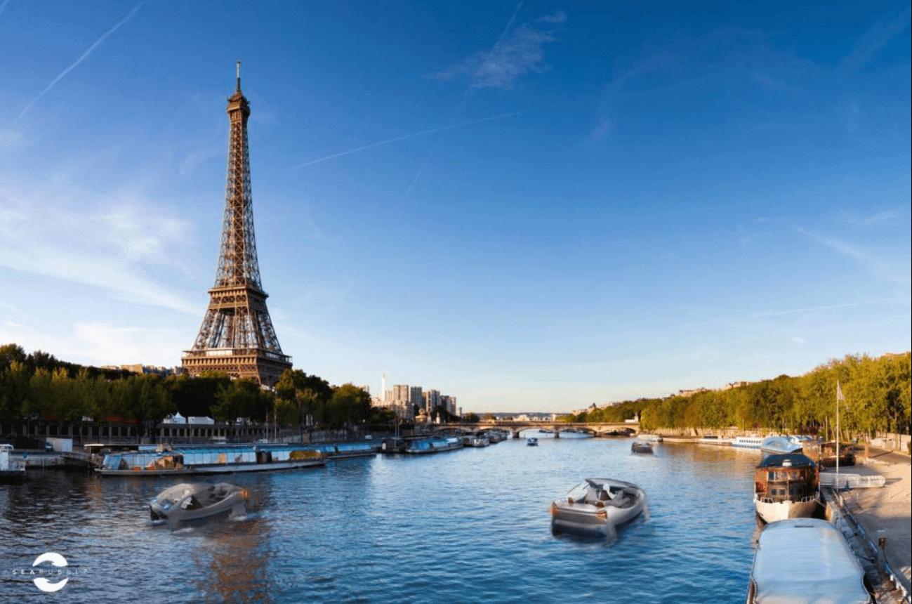 Wassertaxi Paris Seine