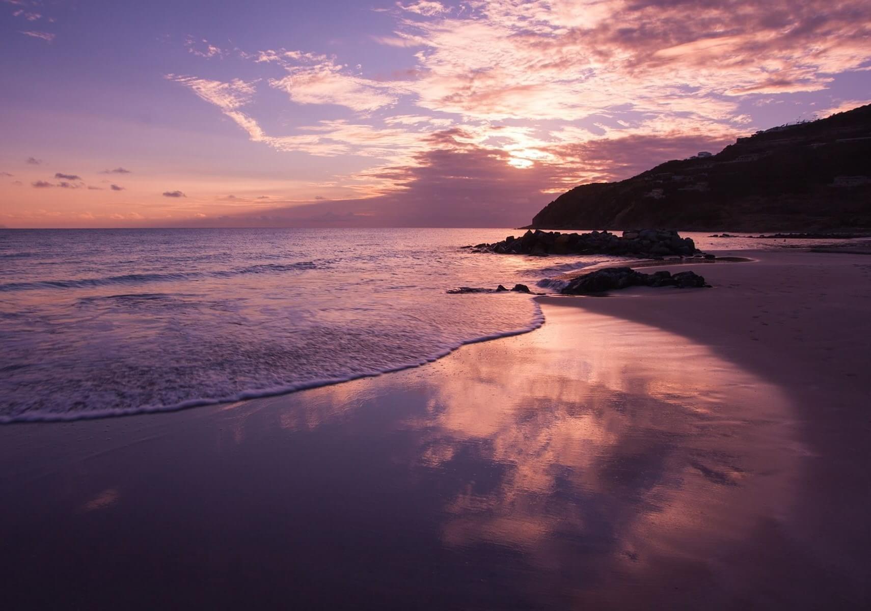 Spiaggia Rosa Sardinien Italien