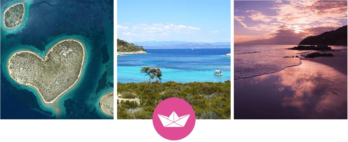 Sardinien, Griechenland, Kroatien