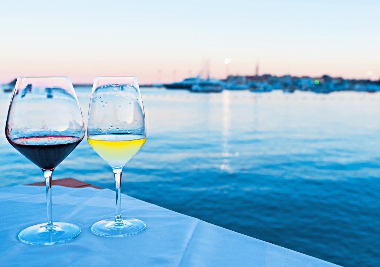 Apero Wein Frankreich