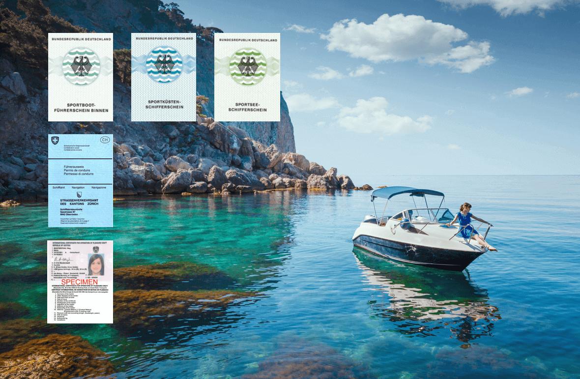 Bootsführerschein im Ausland Bestimmungen