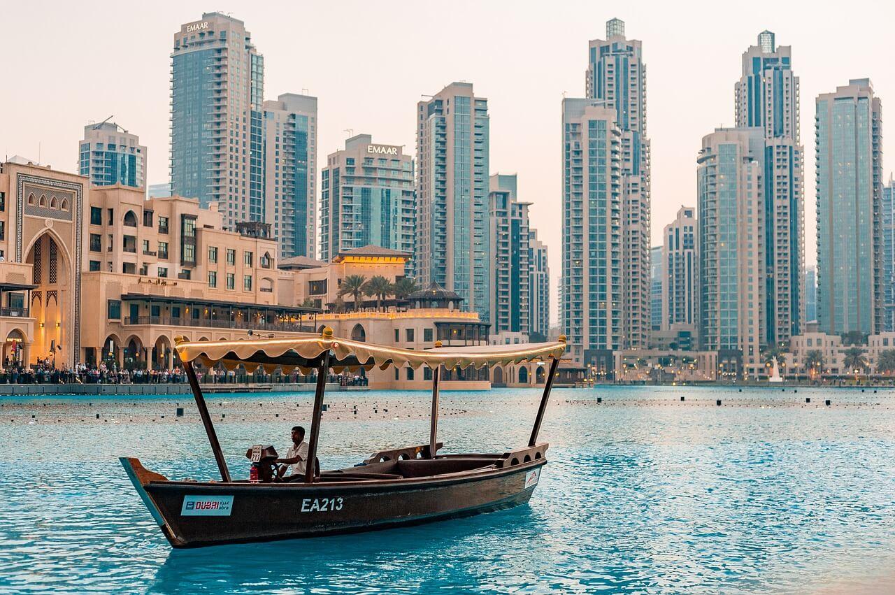 Boote in Dubai
