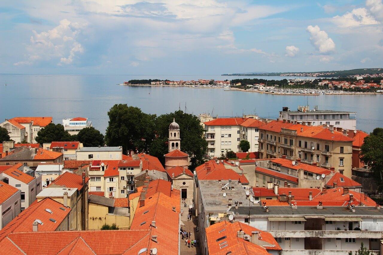Dächer Zadar