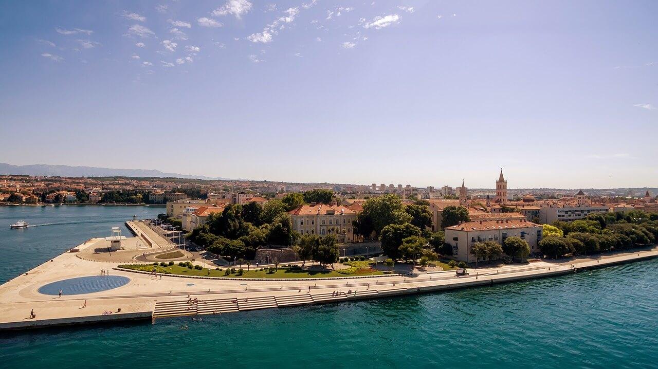 Meer vor Zadar