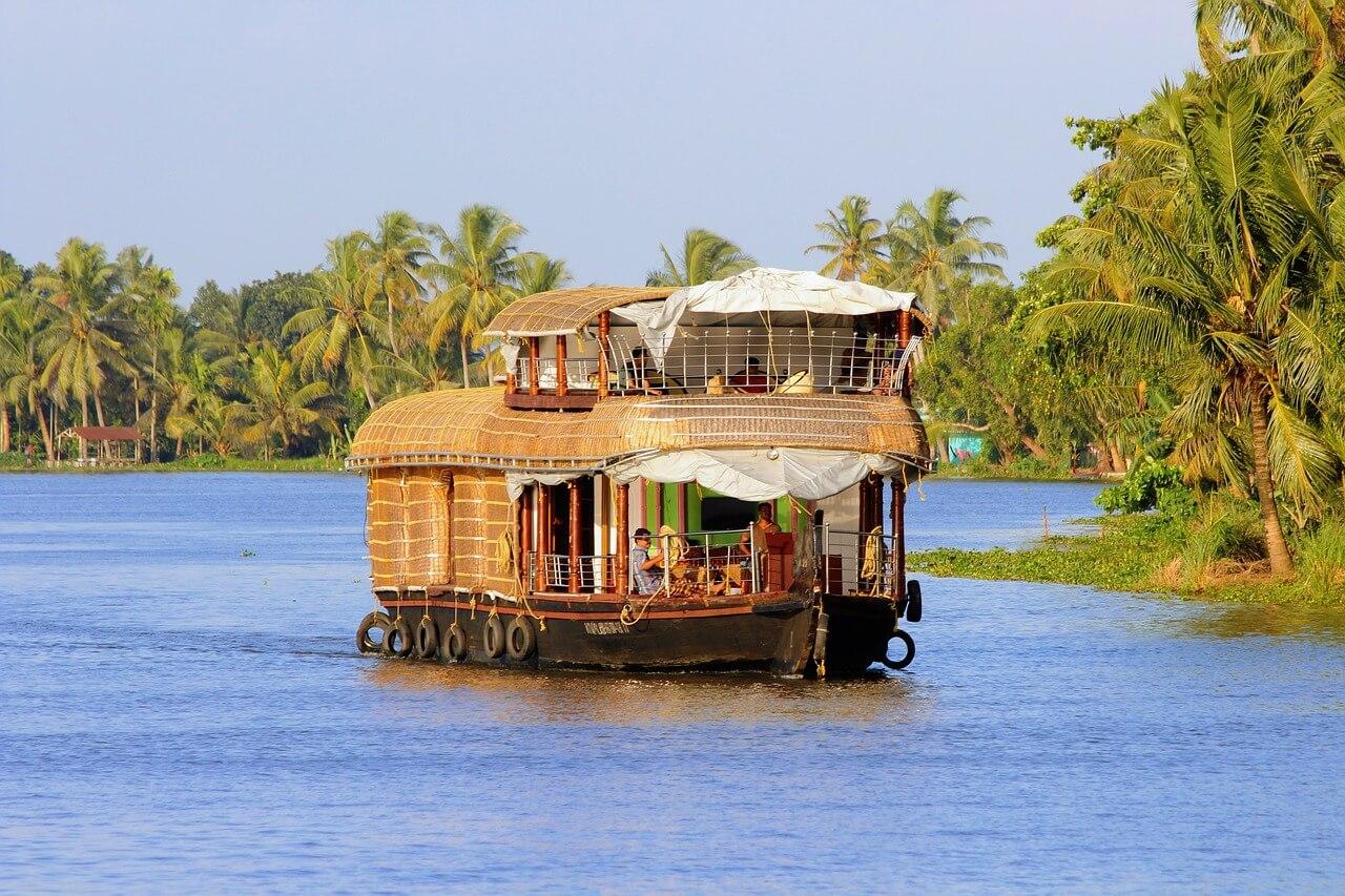 Ferien auf dem Boot