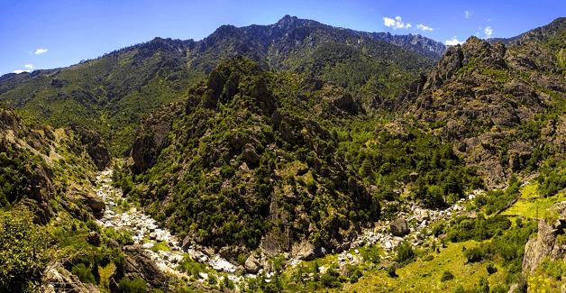 Landschaft Korsika