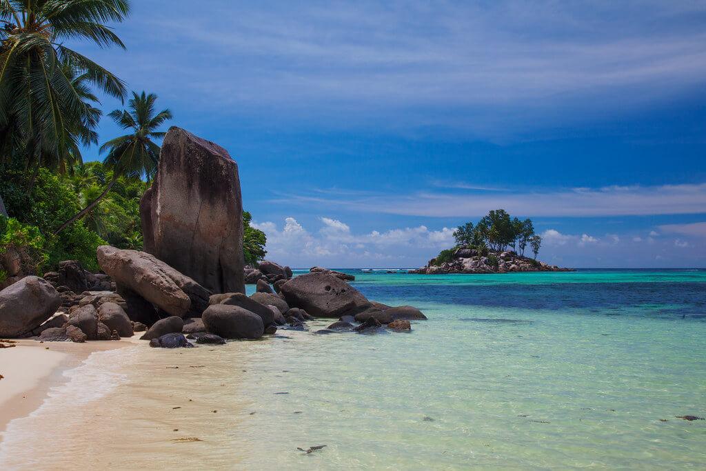 Küste Seychellen