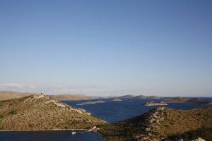 Ausblick auf die Kornati Inseln