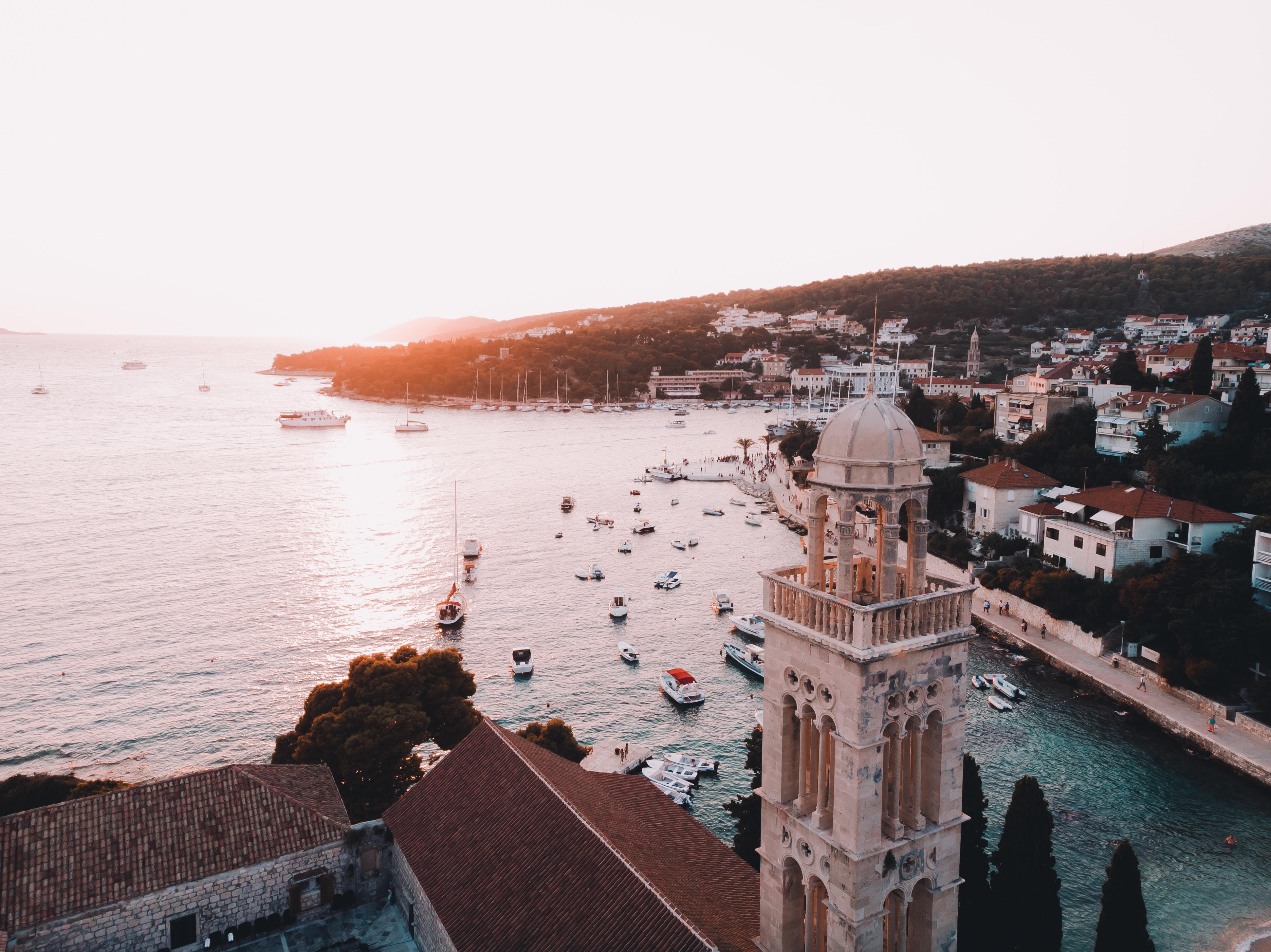 Kroatien im Abendlicht