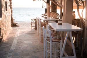 Cafe auf Naxos