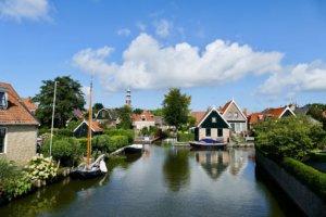 Die Kanäle von Friesland