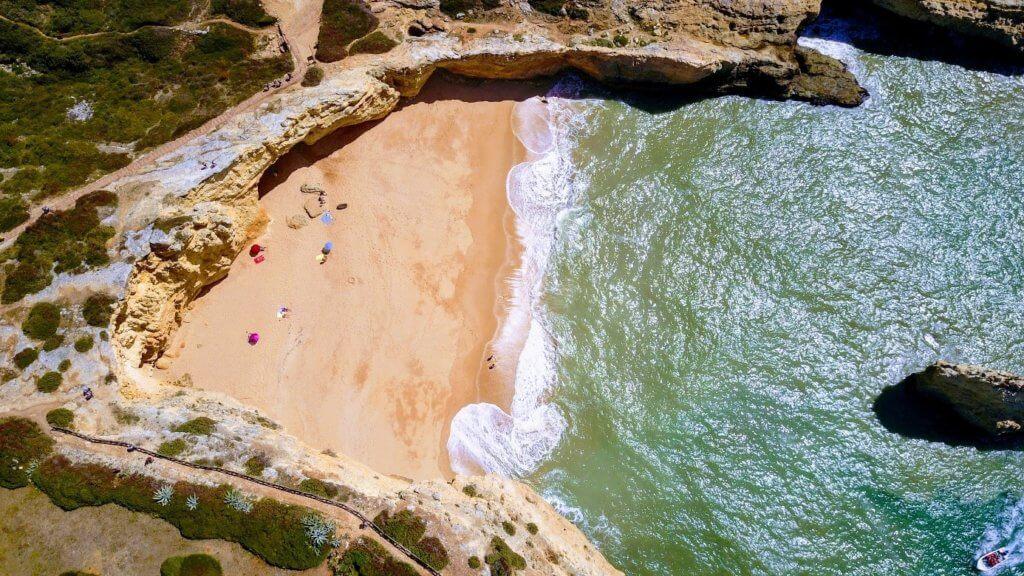 Portugal Strand bei Faro