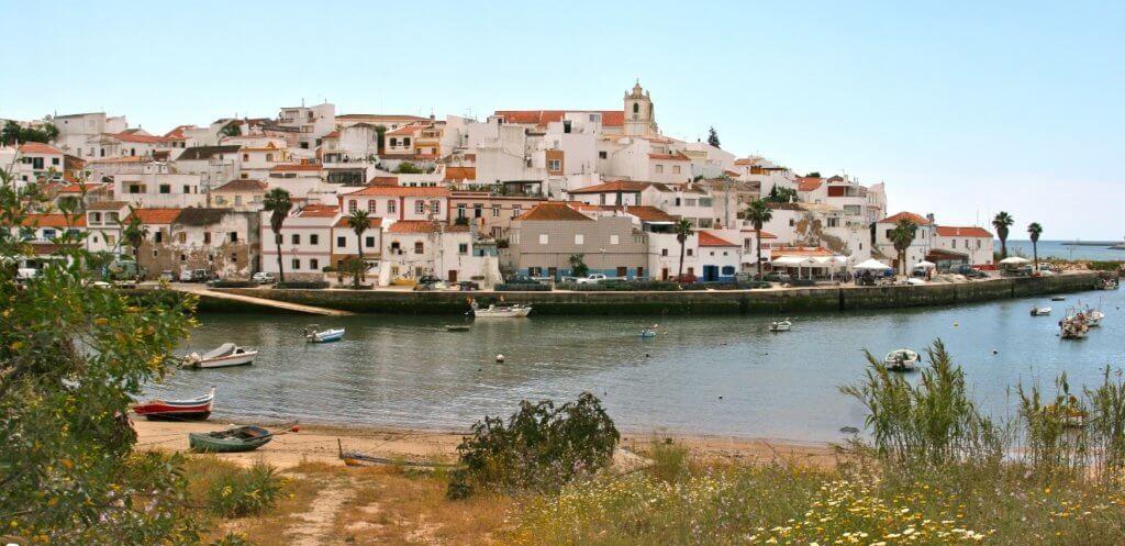 Ausblick auf Ferragudo