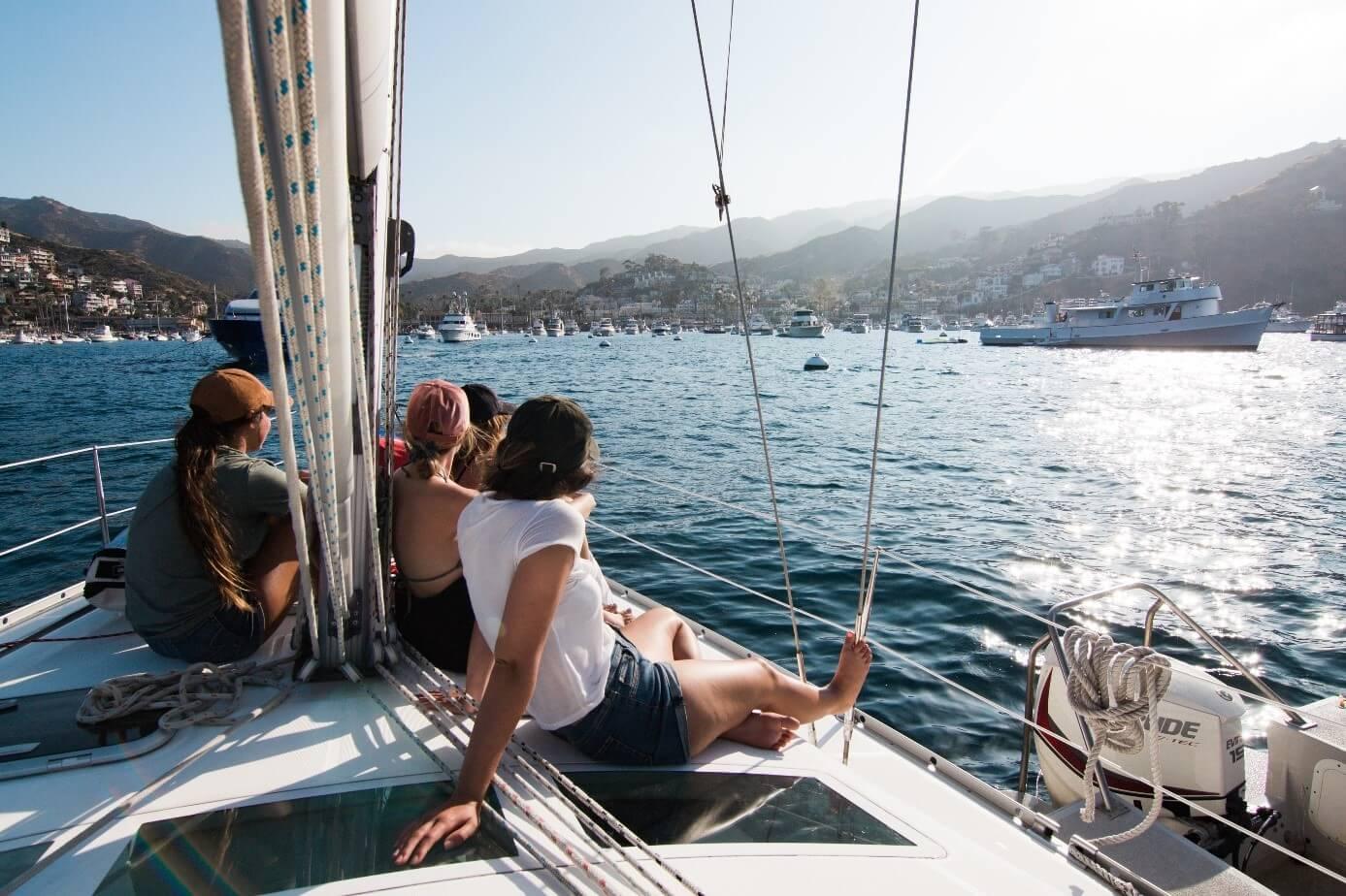 Frauenpower an Bord
