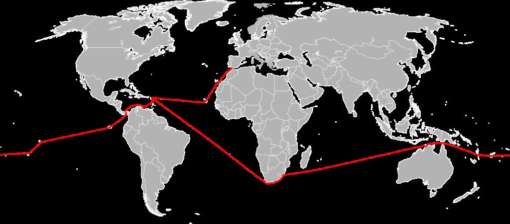 Laura's Route um die Welt