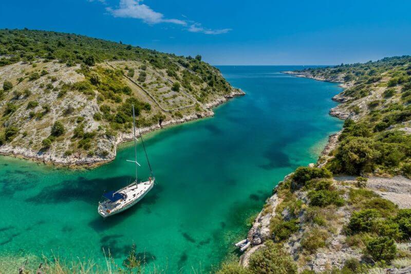 Entspannung auf See in Kroatien