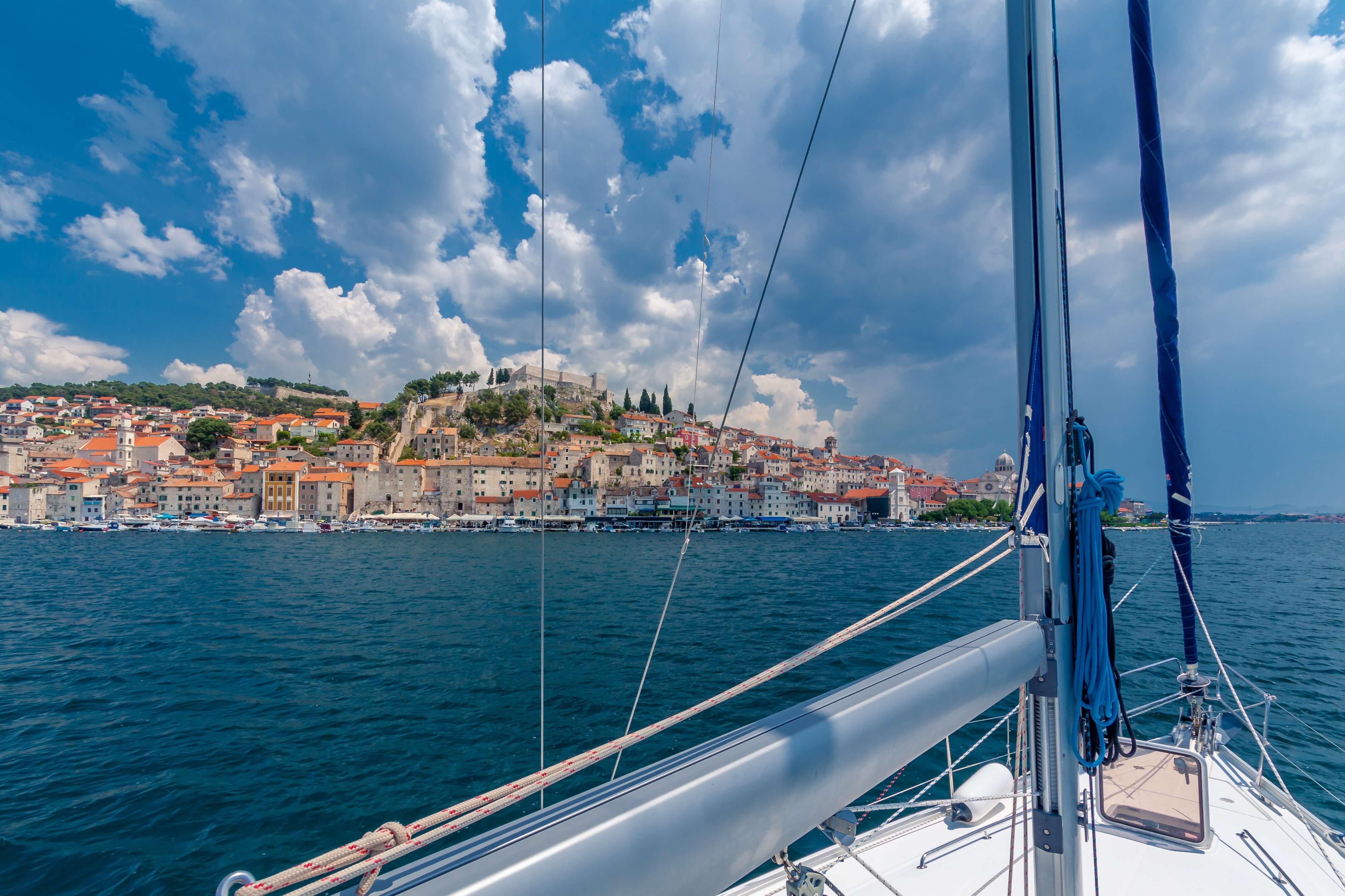 CAmping und Bootfahren in Kroatien