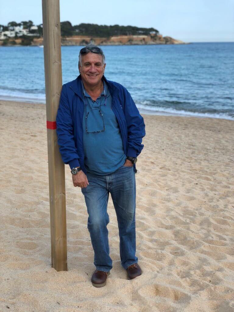Bootsbesitzer Diego in Costa Brava