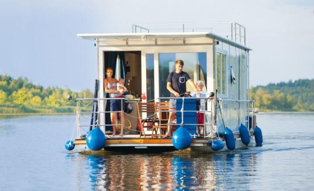 in Deutschland ein Hausboot mieten