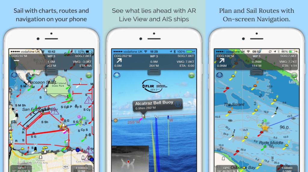 SeaNav Marine Navigation App