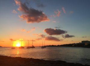 ibiza beach at sunset city guide