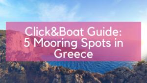 Mooring Spots Greece