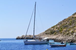 Hire a boat in Zante