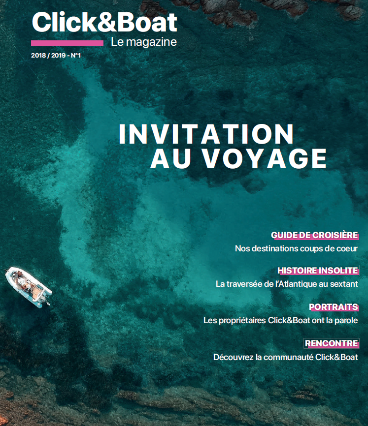 Magazine distributed at Paris Boat Show