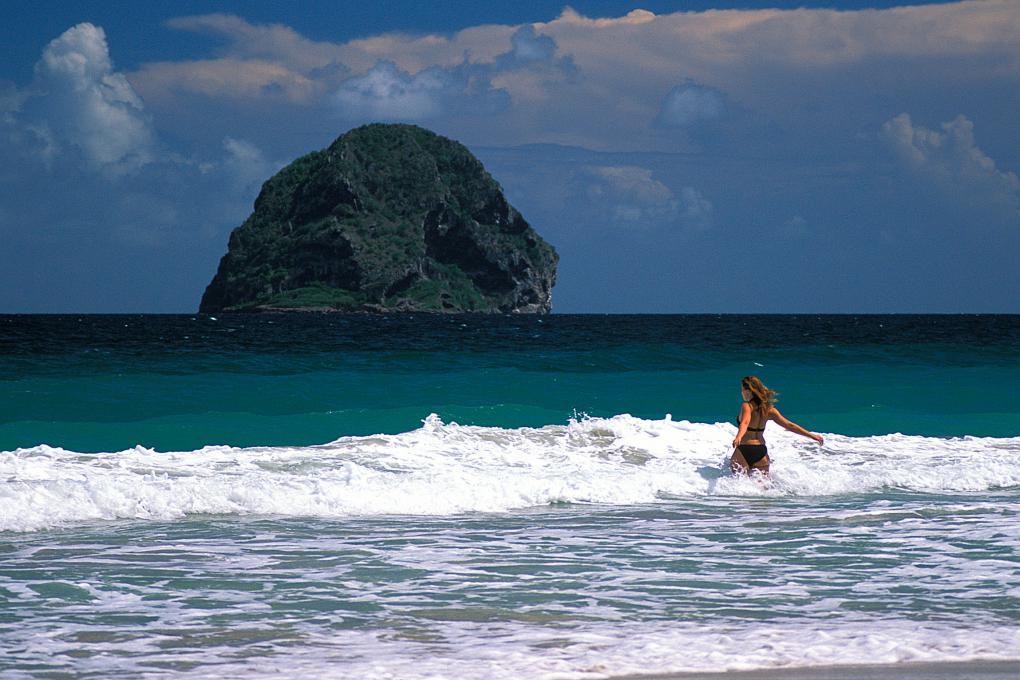 Diamant beach Martinique