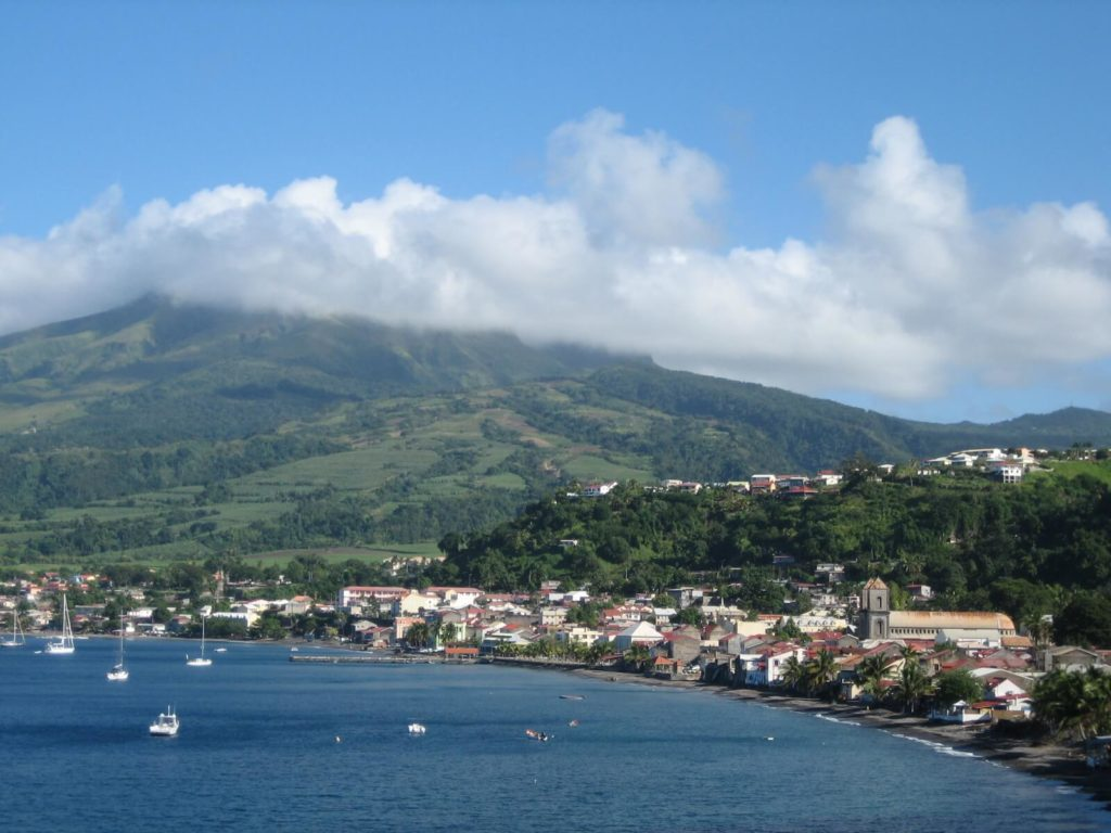 yacht charter in Martinique