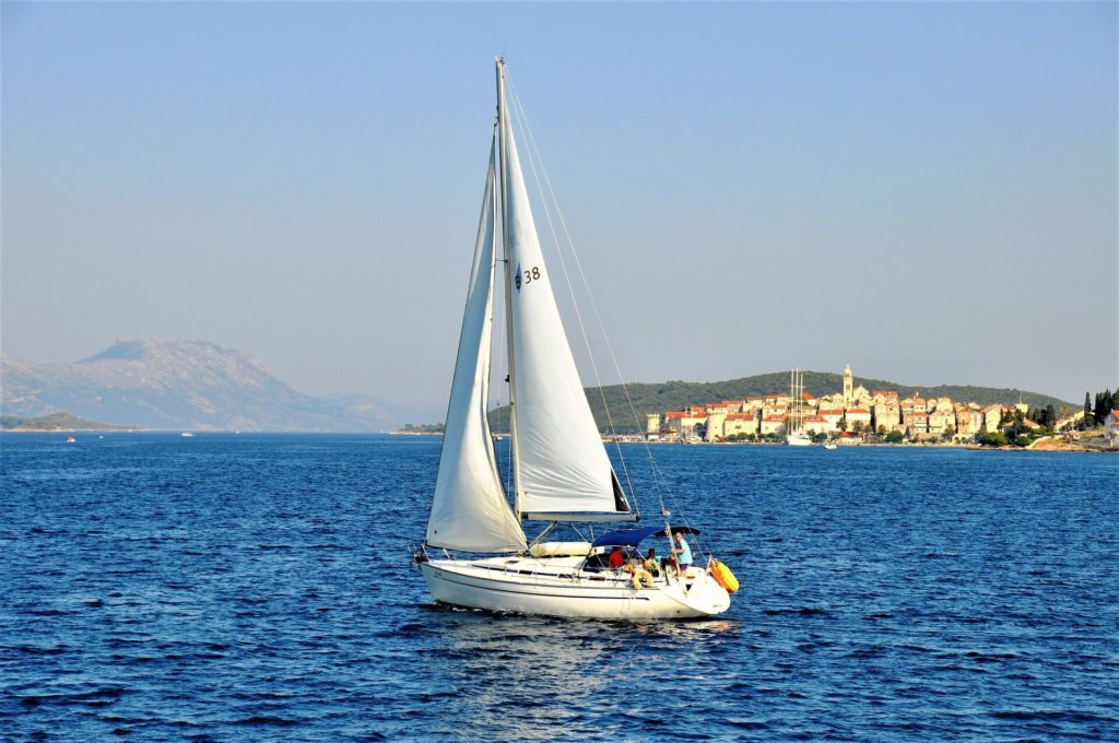 hire a boat in Korcula