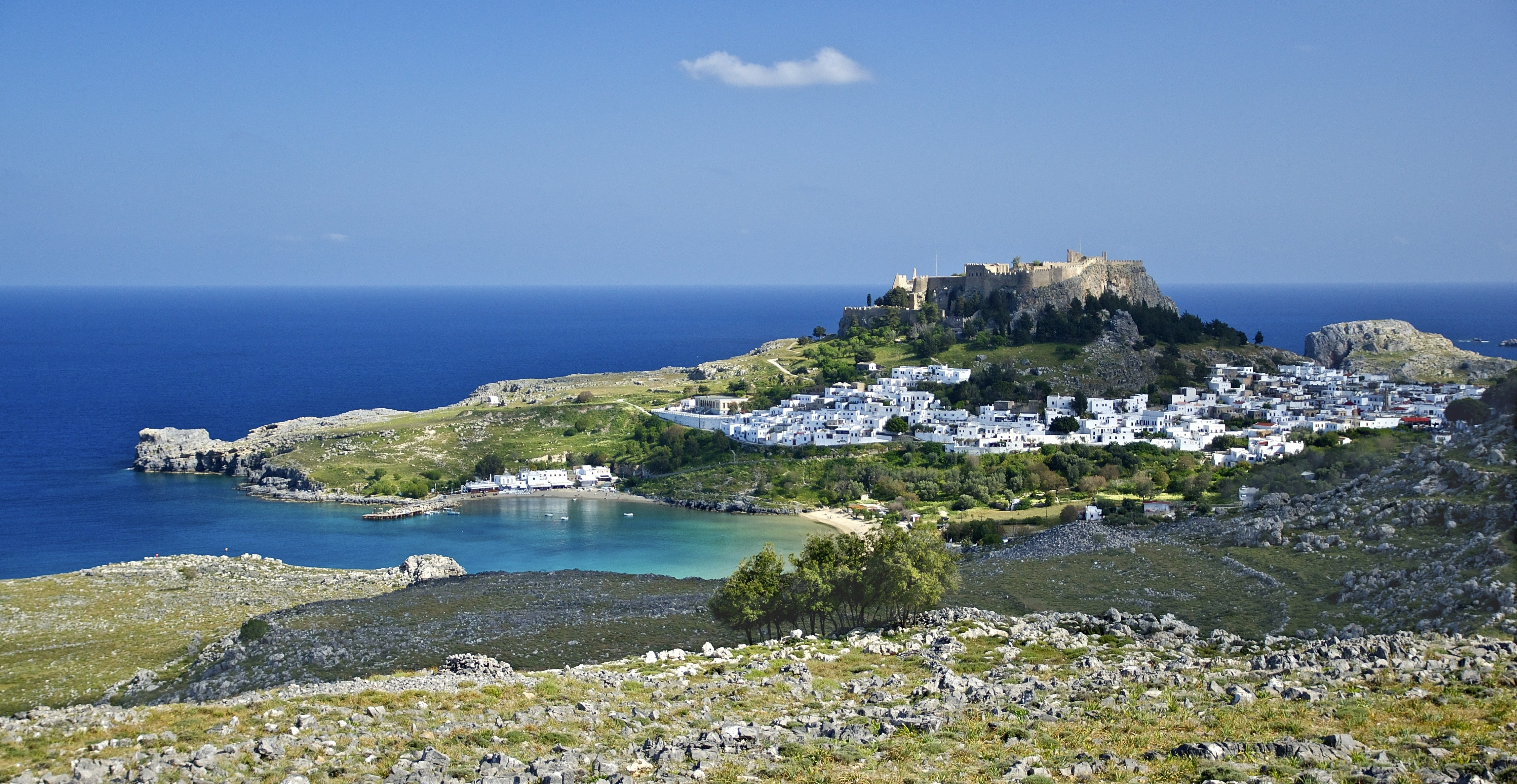 charter a yacht in Rhodes
